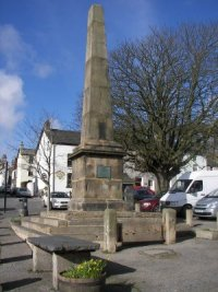 About Broughton-in-Furness. Obelisk