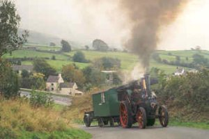 Adventure Activites. Traction Engine